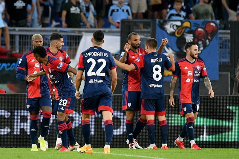 Cagliari welcome Venezia to the Unipol Domus Stadium