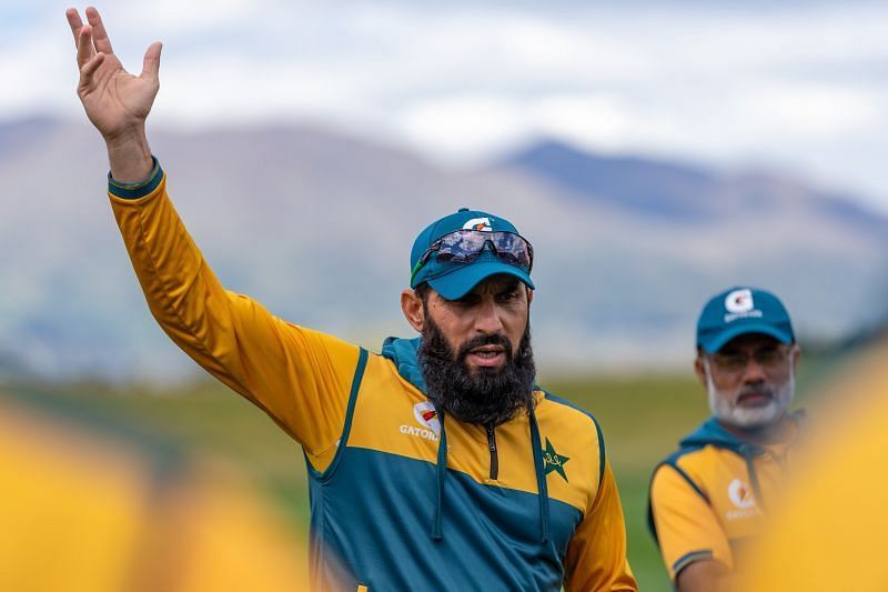 Pakistan's head coach Misbah-ul-Haq relinqished his role on Monday.