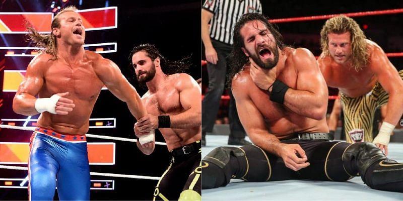 WWE Extreme Rules में सैथ रॉलिंस और डॉल्फ ज़िगलर का मैच हुआ था