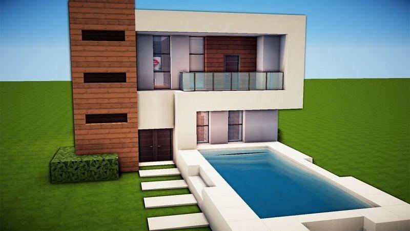 A simple yet beautiful house (Image via Pinterest)