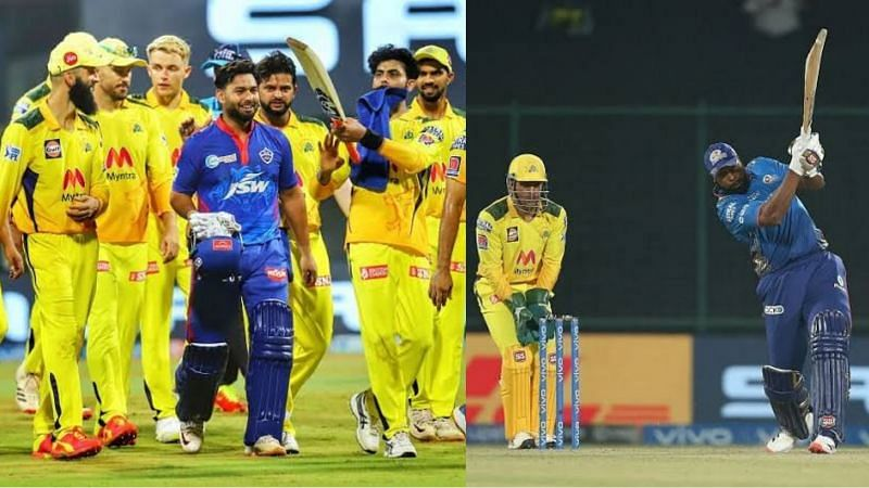Rishabh Pant and Kieron Pollard have a great record against CSK in IPL matches (Image Courtesy: IPLT20.com)