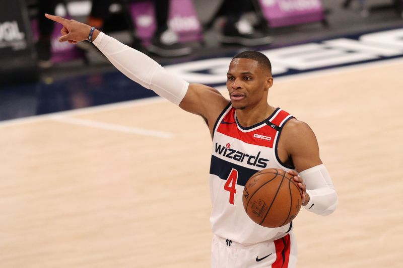 Russell Westbrook has recorded 280 double-doubles in the last five NBA seasons.