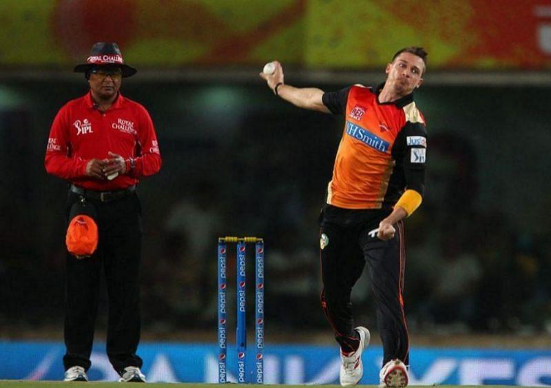 डेल स्टेन और डेविड वॉर्नर आईपीएल में सनराइजर्स हैदराबाद के लिए खेलें हैं (Photo - IPL)