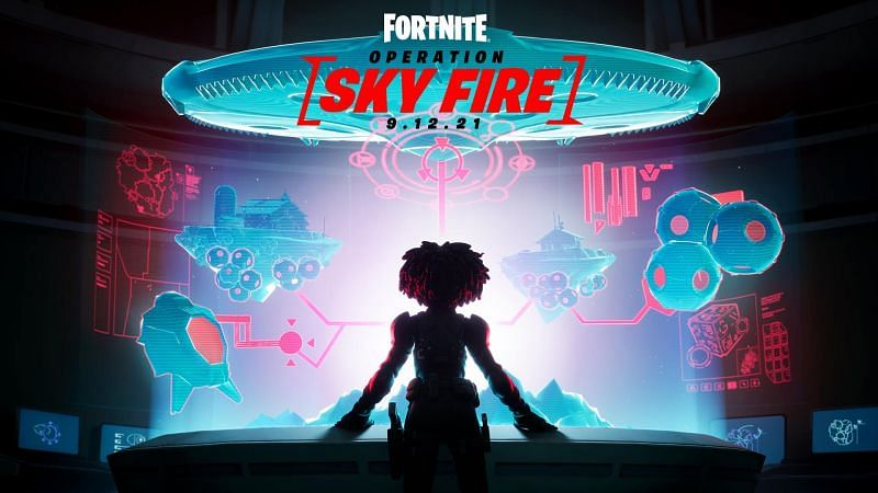 Fans are waiting for the Fortnite Chapter 2 Season 7 Operation: Sky Fire live event (Image via Epic Games)