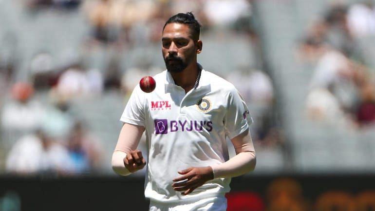 सिराज ने ऑस्ट्रेलिया दौरे पर टेस्ट डेब्यू किया था