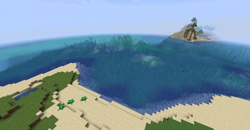 Seed: sixland (Image via Minecraft)