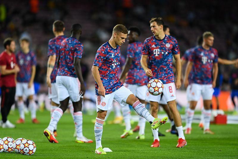 Bayern Munich won at Barcelona.