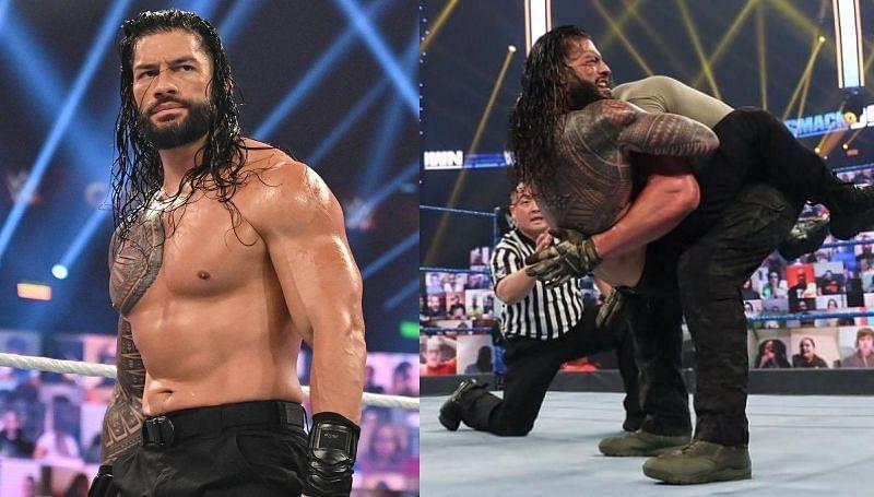 WWE के 4 बड़े सुपरस्टार्स को रोमन रेंस ने इस साल सबमिशन से हराया