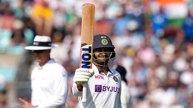 शार्दुल ठाकुर ने ओवल टेस्ट की दोनों पारियों में बल्ले के साथ अहम योगदान दिया