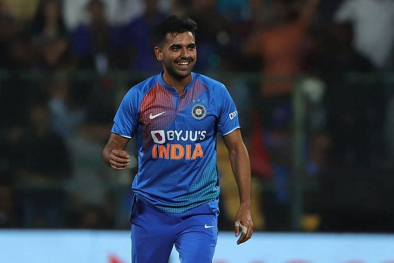 Deepak Chahar has given a good account of himself in white-ball cricket