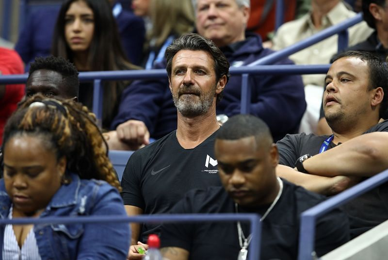 Patrick Mouratoglou at the 2018 US Open final
