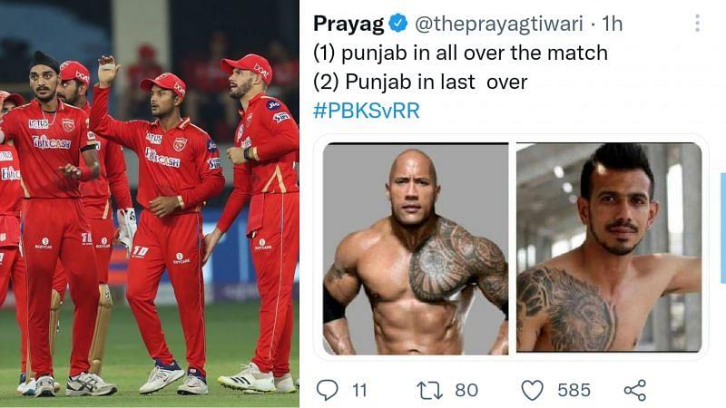 Punjab Kings lost to Rajasthan Royals by two runs