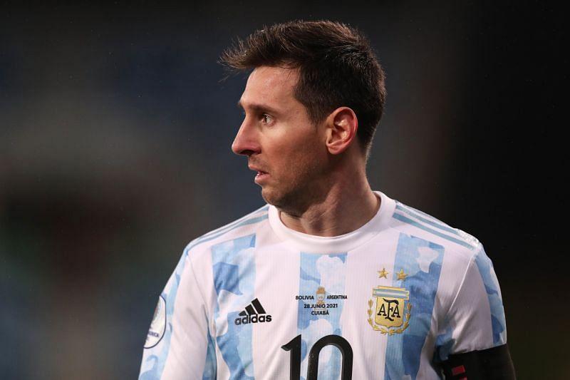 Argentina attacker - Lionel Messi