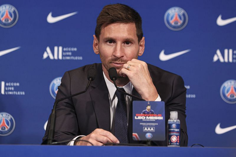 Lionel Messi bade Barcelona goodbye in 2021