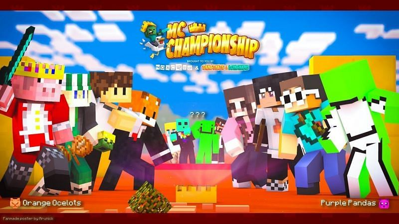 Oftentimes, streamers return to the Minecraft Championship. However, some streamers choose to take a hiatus from the monthly events. (Image via Original Content on YouTube)