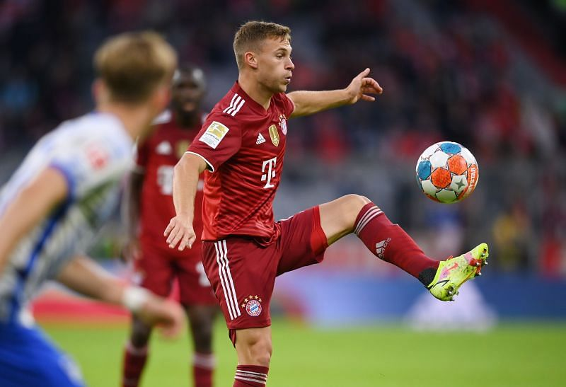 Joshua Kimmich - FC Bayern München vs Hertha BSC - Bundesliga