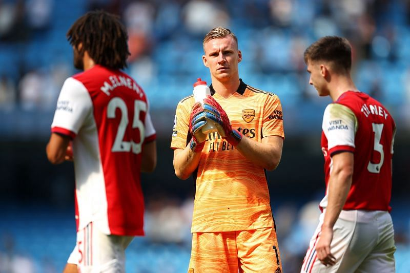 Bernd Leno is no longer guaranteed a place in the starting eleven at Arsenal