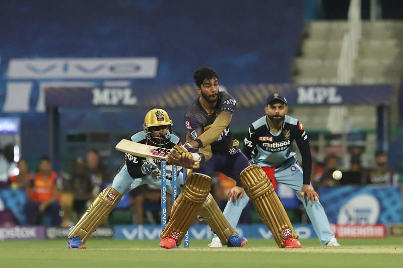 Venkatesh Iyer showcased his range in an impressive debut performance.