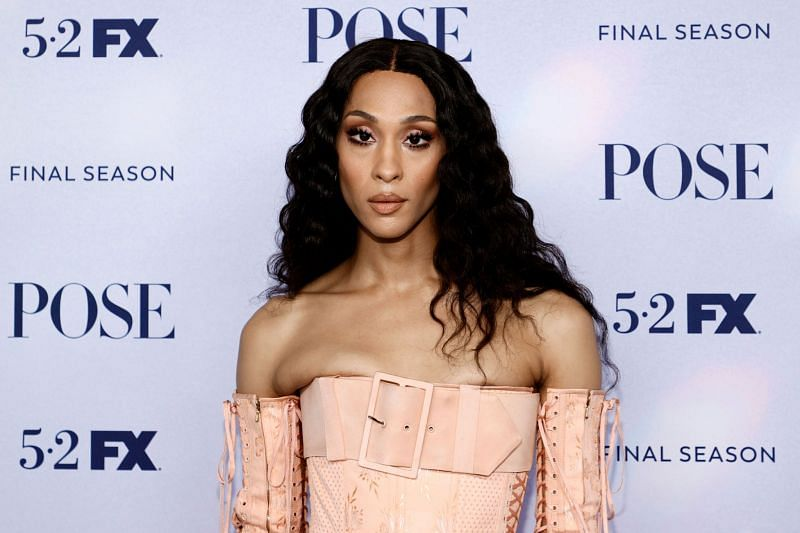 MJ Rodriguez was nominated for the lead actress role at Emmy Awards 2021. (Image via Getty Images)