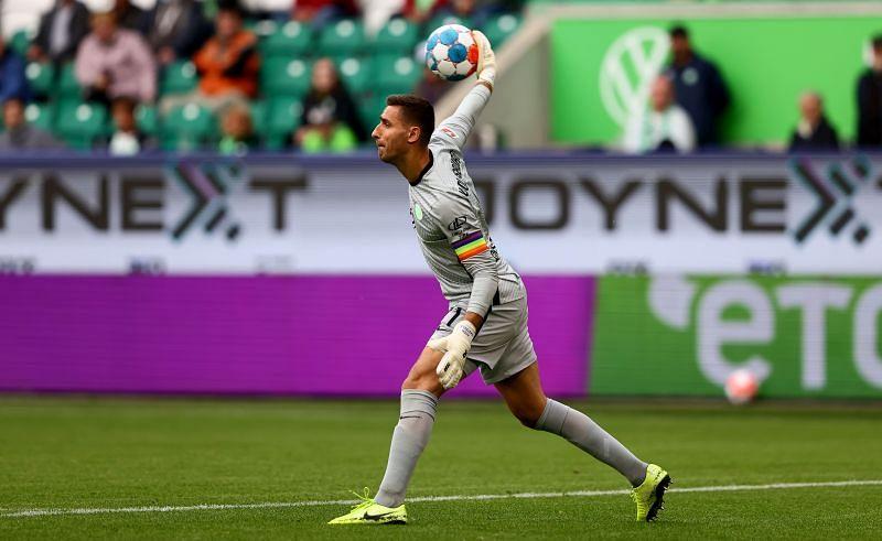 Koen Casteels has performed well for Wolfsburg.
