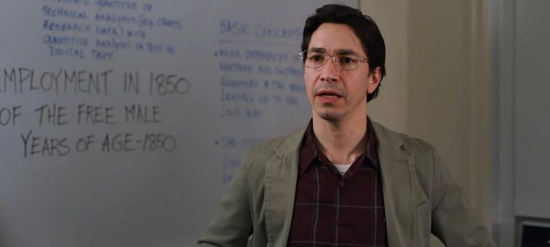 Co-director Justin Long portrays Max in the movie (Image via Lionsgate)