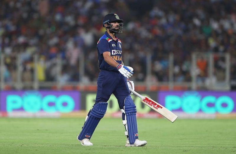 Since the start of 2020, Virat Kohli has scored 1649 runs at a modest average of 38.34 across all formats