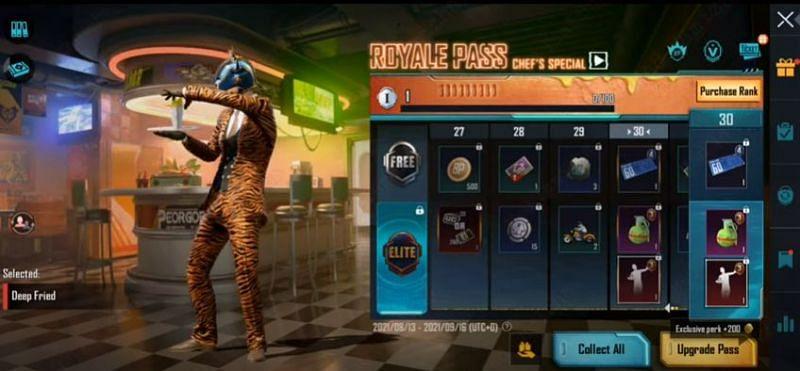 RP rank 30 reward in PUBG Mobile M3 RP (Image via Mad Tamizha YT / YouTube)