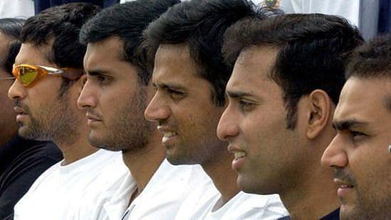 भारतीय टेस्ट टीम के फेब-5 बल्लेबाज
