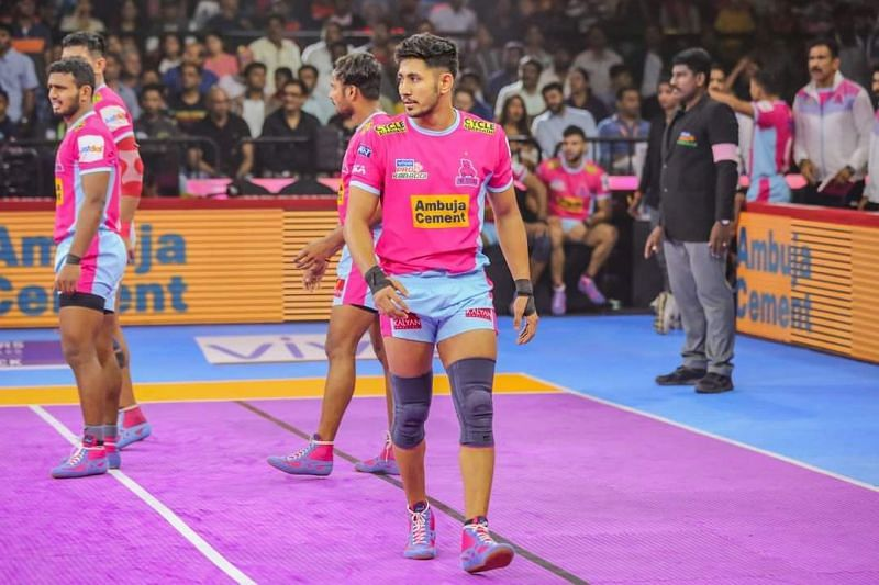 Sandeep Dhull will ply his trade for the Pink Panthers for a third-consecutive season.