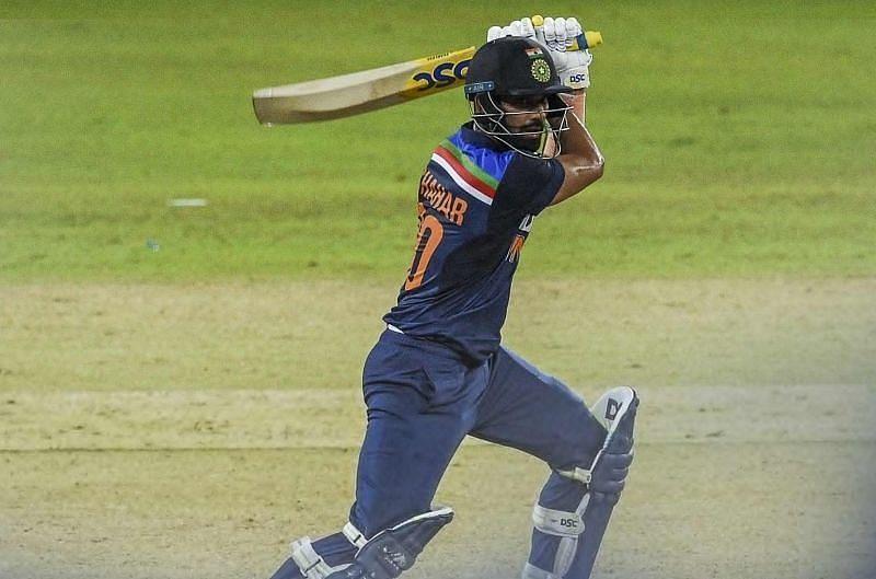 Deepak Chahar scored a match-winning 69 in an ODI in Sri Lanka. Pic: ICC