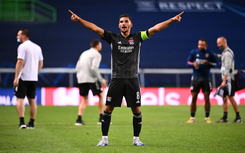 Houssem Aouar has hinted he wants to stay at Lyon