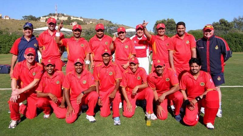 The Spain Cricket Team (Source: ICC)