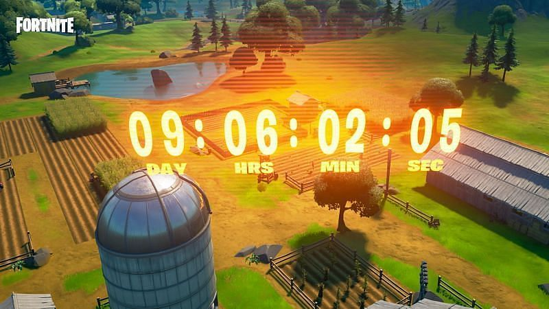 Fortnite Operation: Sky Fire countdown timer (Image via FortniteBRFeed/Twitter)