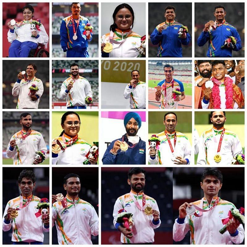 Tokyo Paralympics में भारत की तरफ से पदक जीतने वाले खिलाड़ी