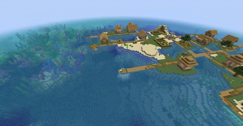 Seed: 2115116628201592787 (Image via Minecraft)