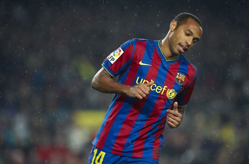 Henry was sent to the MLS after his Barcelona spell