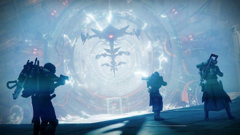 Glassway strike in Destiny 2 (Image via Bungie)
