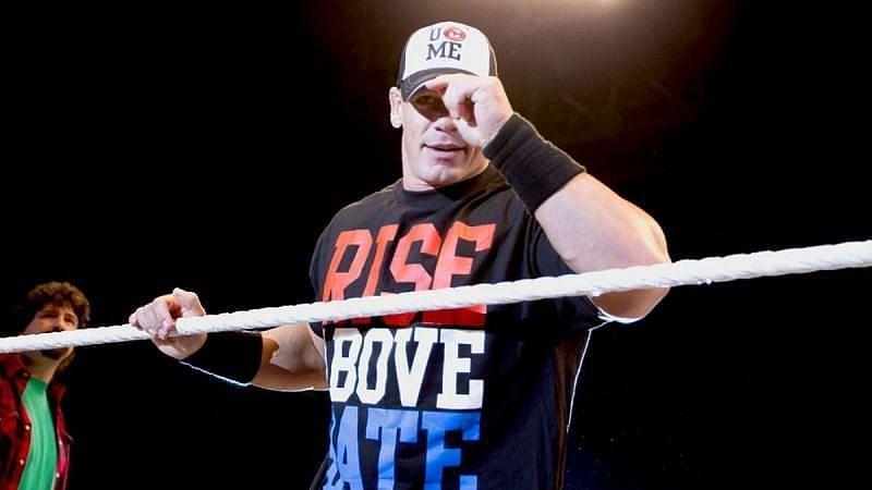 जॉन सीना ने Extreme Rules पीपीवी में आखिरी मैच 2015 में लड़ा