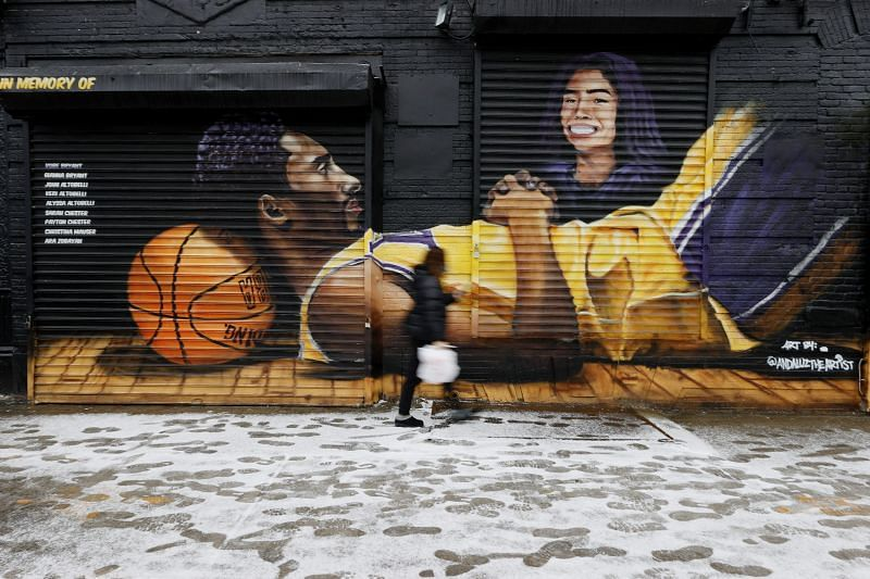 Fans Pay Tribute Marking One Year Since Kobe Bryant Death