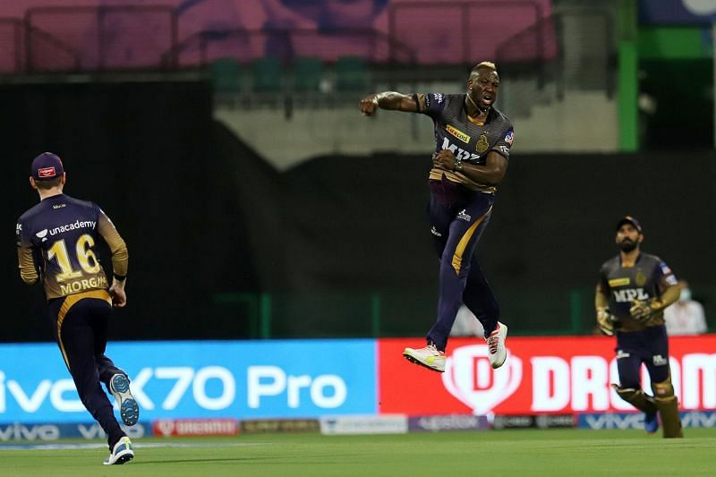Andre Russell starred for KKR with the ball [P/C: iplt20.com]