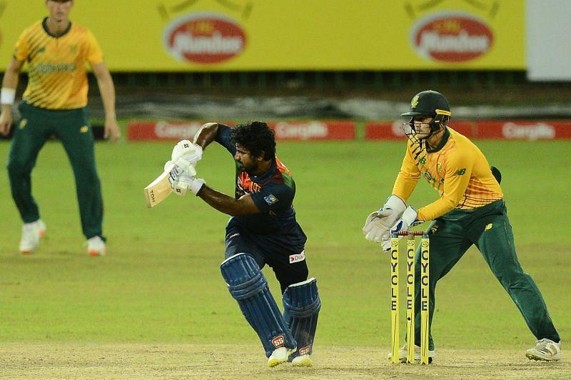 Kusal Perera played a mature knock of 39 runs