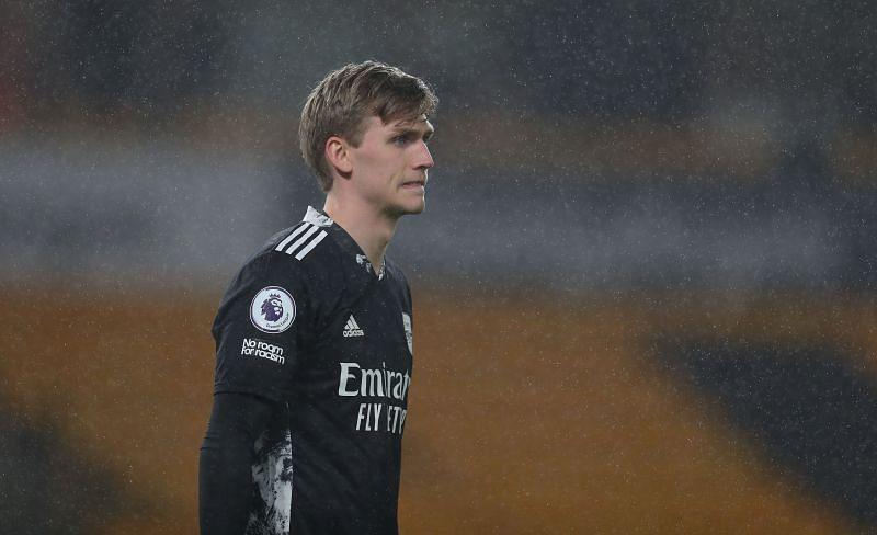 Alex Runarsson has no future at the Emirates
