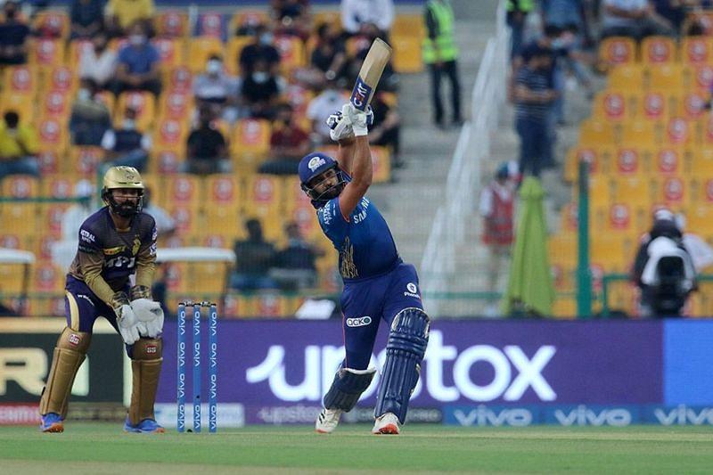 Rohit Sharma was not his fluent best during the Mumbai Indians innings [P/C: iplt20.com]