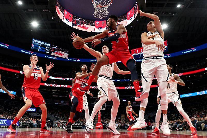 Denver Nuggets v Washington Wizards game