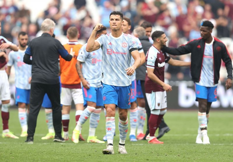 Cristiano Ronaldo is back at Manchester