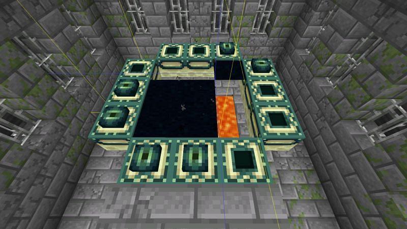 Glitched seeds (Image via Minecraft)