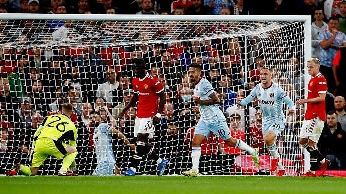West Ham beat Manchester United at Old Trafford for the first time since 2007