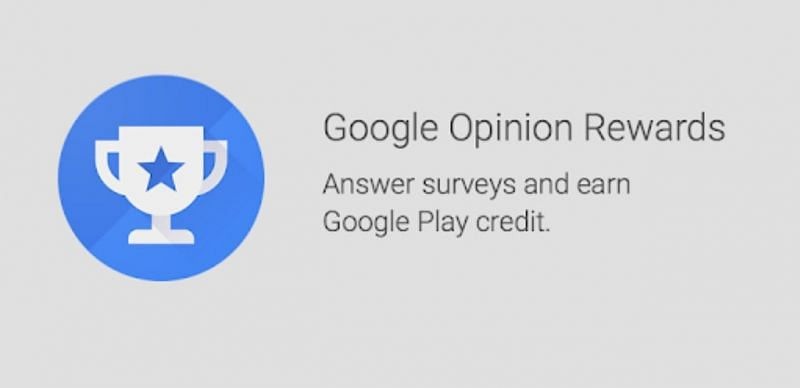 Google Opinion Rewards can also be used to get free UC in PUBG Mobile (Image via Play Store)