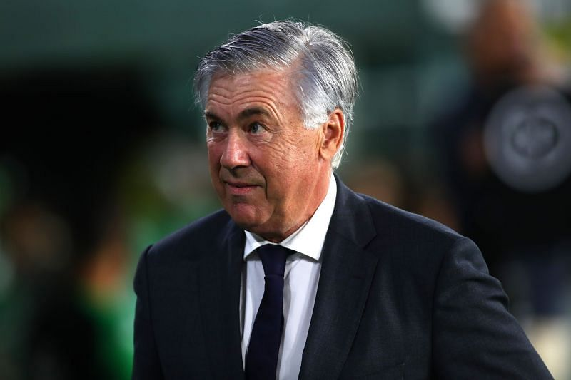Real Madrid manager Carlo Ancelotti. (Photo by Fran Santiago/Getty Images)