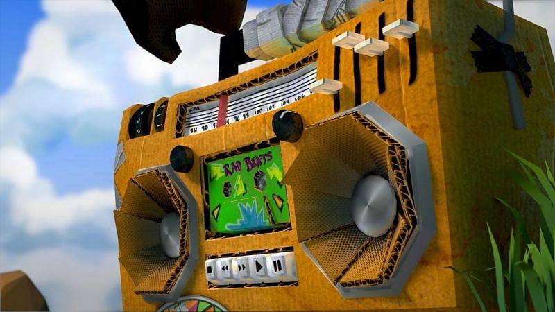 A boombox in Roblox (Image via Roblox Corporation)